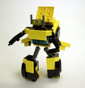 Instructions for LEGO Transformer Robot - Tech Stuff